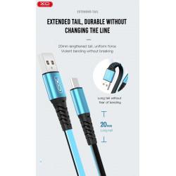 Cable USB a USB C (Azul) XO